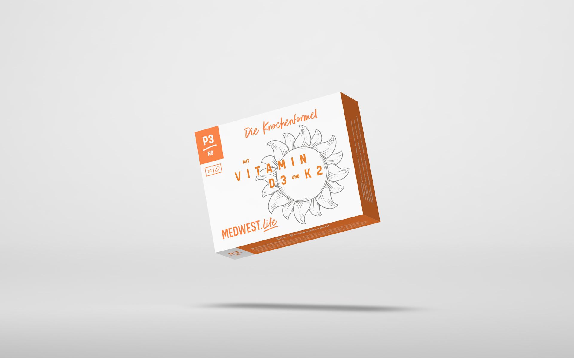 № P3 –  Die Knochenformel mit Vitamin D3 UND K2