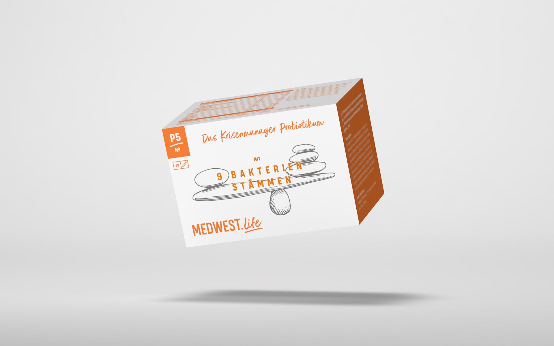 № P5 –  Das krisenmanager Probiotikum mit 7 Bakterienstämmen