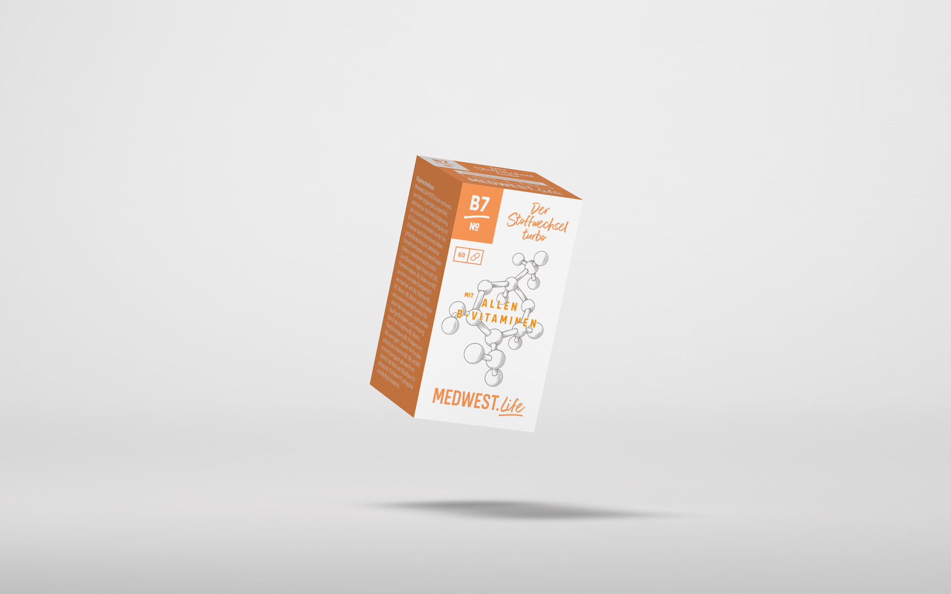 № B7 –  Der Stoffwechselturbo mit allen B-Vitaminen