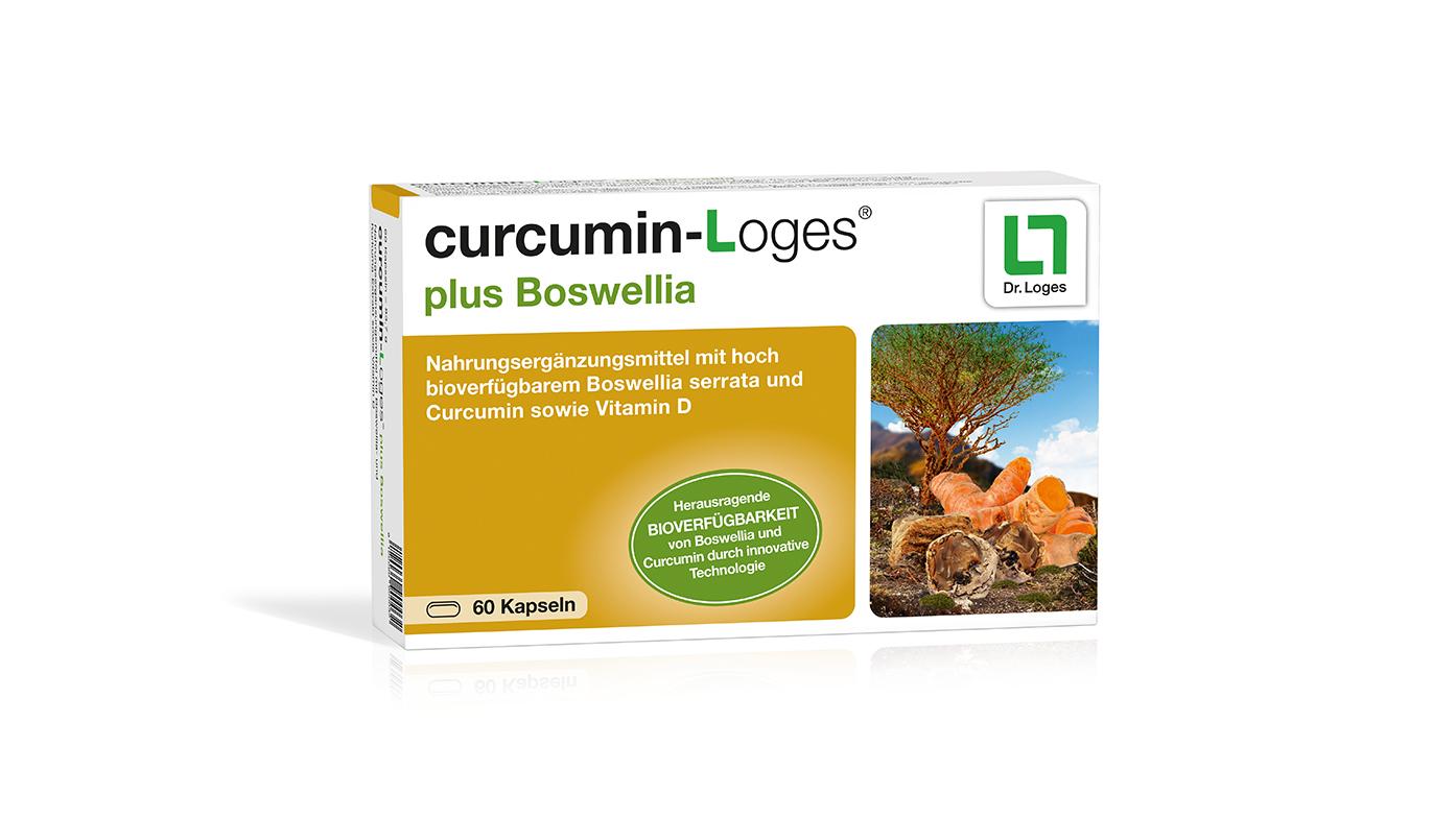 CurcuminLoges plus Boswellia - Kapseln